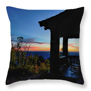 Ready For Sunset Throw Pillow