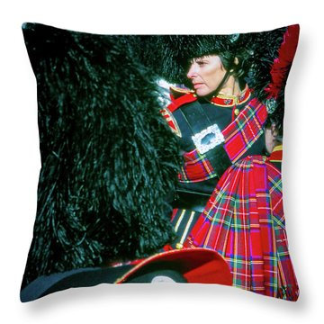 Throw Pillow featuring the photograph Ready For The Parade by Samuel M Purvis III