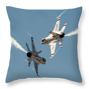 Ready Hit It Throw Pillow