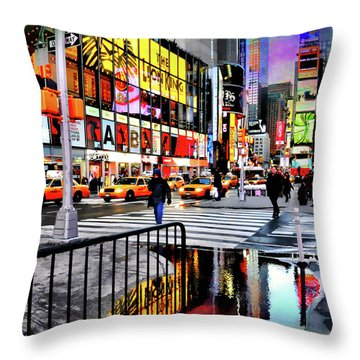 Throw Pillow featuring the photograph Ready Or Not by Diana Angstadt