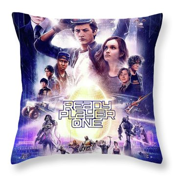 Ready Player One Throw Pillow