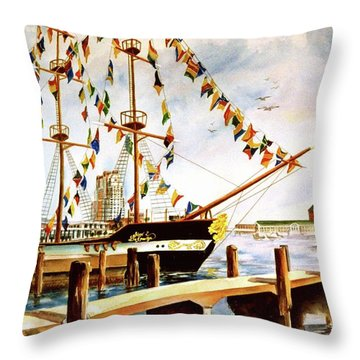 Ready The Celebration Throw Pillow