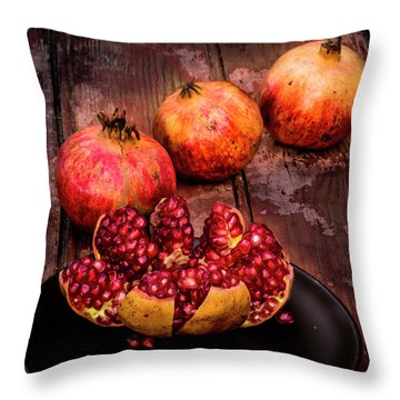 Ready To Eat Throw Pillow
