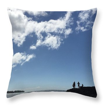 Ready To Jump Throw Pillow