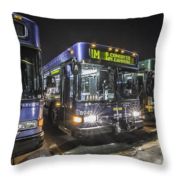 Ready To Roll Throw Pillow