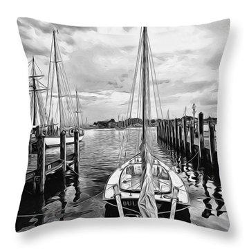 Ready To Set Sail Throw Pillow