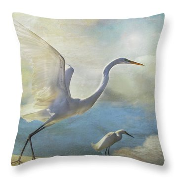 Ready To Soar Throw Pillow