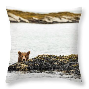 Ready To Swim Throw Pillow