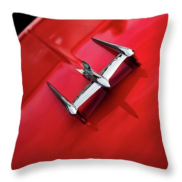 Throw Pillow featuring the photograph Ready To Take Off by Rebecca Cozart