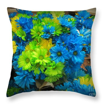 Real Color Or Hmmmmm Throw Pillow