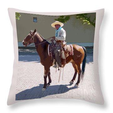 Real Cowboy Throw Pillow