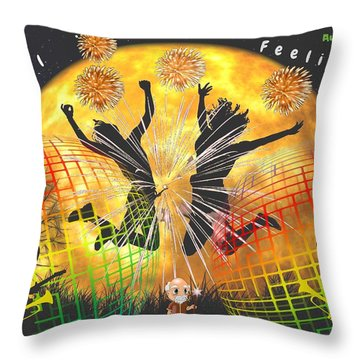 Real Feelings Throw Pillow