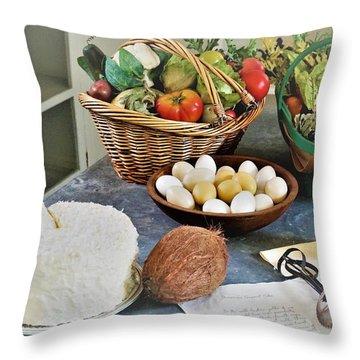 Real Food Throw Pillow