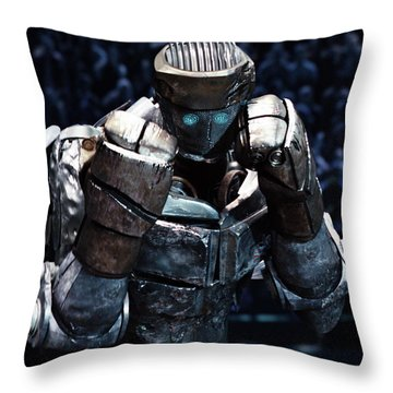 Real Steel Atom Throw Pillow