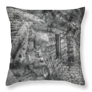 Reality Throw Pillow by Nadine Berg