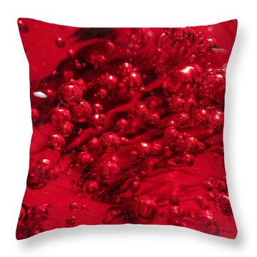 Really Red Throw Pillow