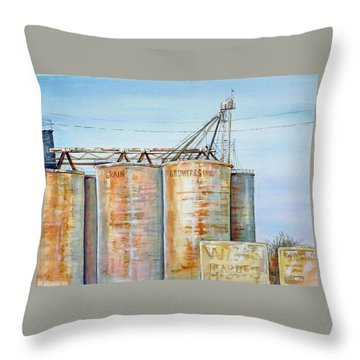 Rearden Grainery Throw Pillow