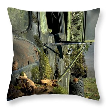 Rearview Throw Pillow