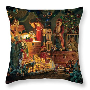 Reason For The Season Throw Pillow