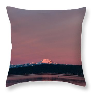 Reason To Get Out Of Bed Throw Pillow by Jan Davies
