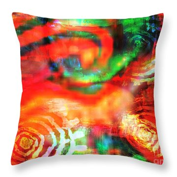 Rebel Throw Pillow by Fania Simon