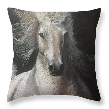 Rebelle Throw Pillow by Jean Yves Crispo