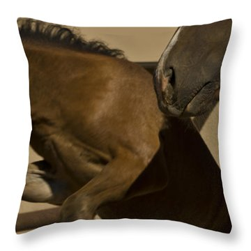 Throw Pillow featuring the photograph Rebellion by Catherine Sobredo