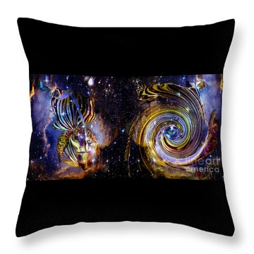 Rebirth And Eternity Throw Pillow
