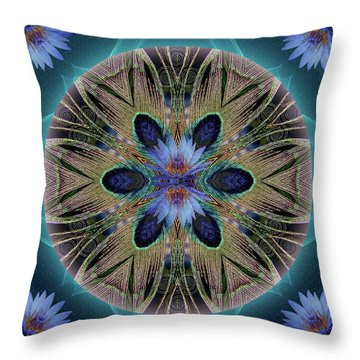 Rebirth Rising Throw Pillow