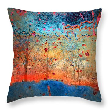 Rebirth Throw Pillow by Tara Turner