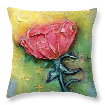 Reborn Throw Pillow by Terry Webb Harshman