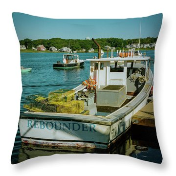 Rebounder Throw Pillow