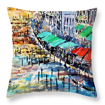 Recalling Venice 02 Throw Pillow