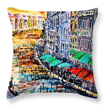 Recalling Venice 03 Throw Pillow