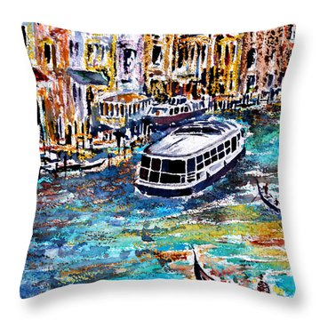 Recalling Venice 04 Throw Pillow