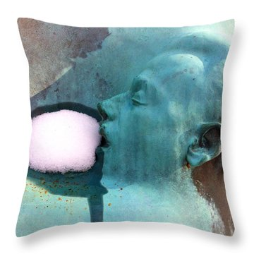 Recchia In Winter Throw Pillow