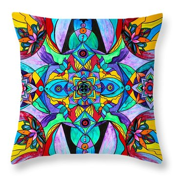 Receive Throw Pillow