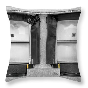 Receiving Doors Throw Pillow