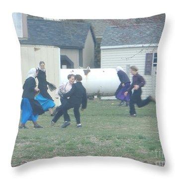 Recess Fun Throw Pillow