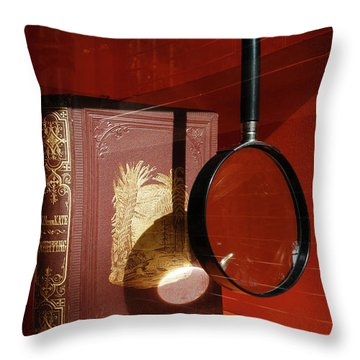 Recipe For Disaster At The Museum Throw Pillow