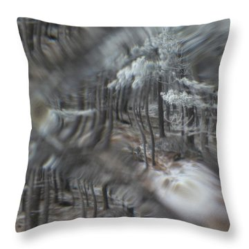Recital For The Cold And The Eyes - Fourth Movement Throw Pillow