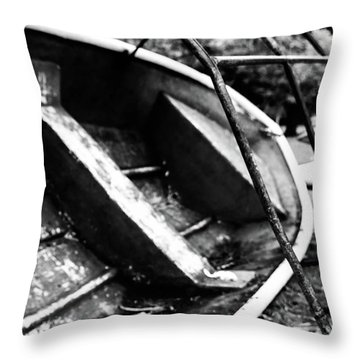 Reckage Throw Pillow