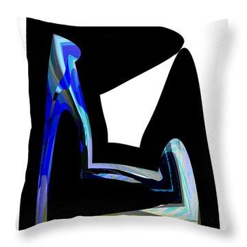 Recline Throw Pillow by Thibault Toussaint