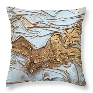 Reclining Throw Pillow by Angela Stout