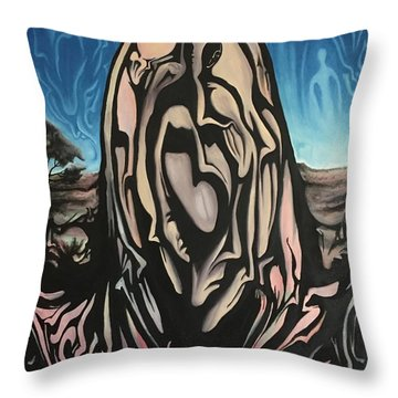 Recluse Throw Pillow