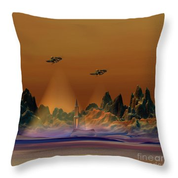 Recon Throw Pillow by Corey Ford