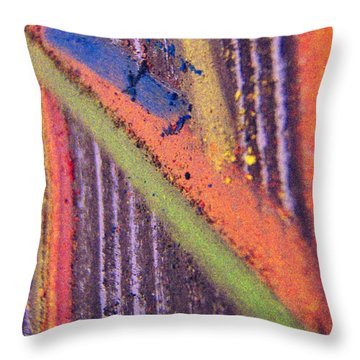 Throw Pillow featuring the pastel Record  Lp by Kristine Nora