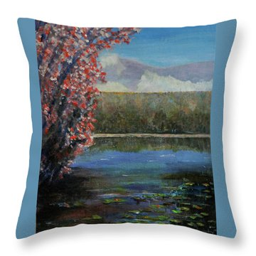 Recovery Throw Pillow by Dottie Branchreeves