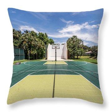 Recreation Throw Pillow