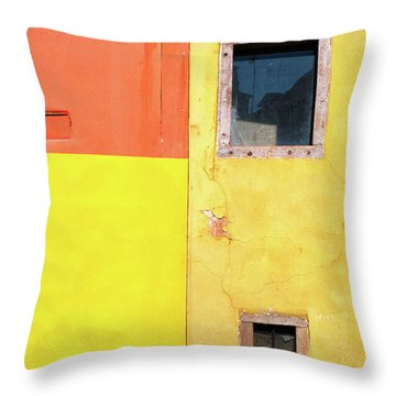 Throw Pillow featuring the photograph Rectangles by Silvia Ganora